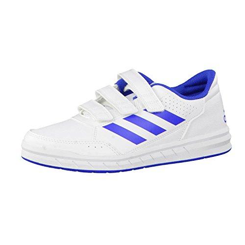 adidas Altasport CF K, Zapatillas Unisex Niños, Blanco (Footwear White/Blue/Footwear White 0), 34 EU