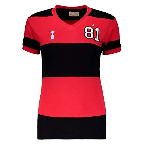 Camisa Flamengo Retrô 1981 Libertadores Feminina