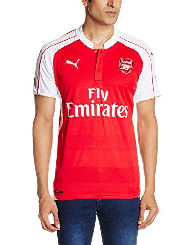 PUMARéplique du Maillot du Club de Football d'Arsenal, Mixte, 747566 01, High Risk Red/White/Victory Gold, XXXL