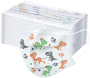 50-Pack Fbay Children's 3-Ply Protective Disposable Face Mask