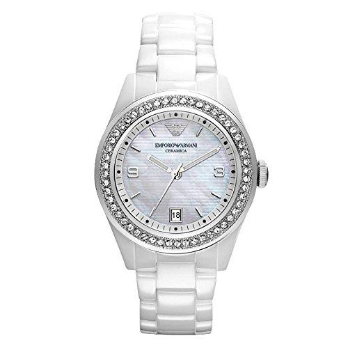 Emporio Armani - AR1426 - Montre Femme - Quartz Analogique - Bracelet Céramique...