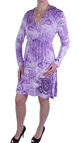 JETTE Joop Damen Kleid (38, Violett)