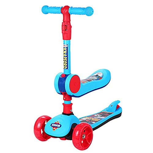 Lowest Price! Qaz Thomas Children's Scooter Kids Baby Slide Three-in-one Multi-Function can take a y...