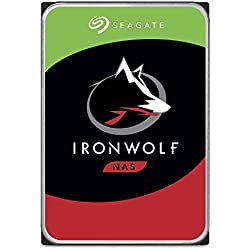 Seagate ST10000VN0004, Hard Disk IronWolf SATA 3.5'' da 10 TB interno, Argento