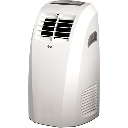 LG LP1015WNR 115V Portable Air Conditioner with Remote Control in White for Rooms up to 250-Sq. Ft. (Renewed)