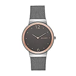 This image shows Skagen Women's Ancher Stainless Steel in Rose Gold which is one of my best picks in my Skagen Watches Reviews