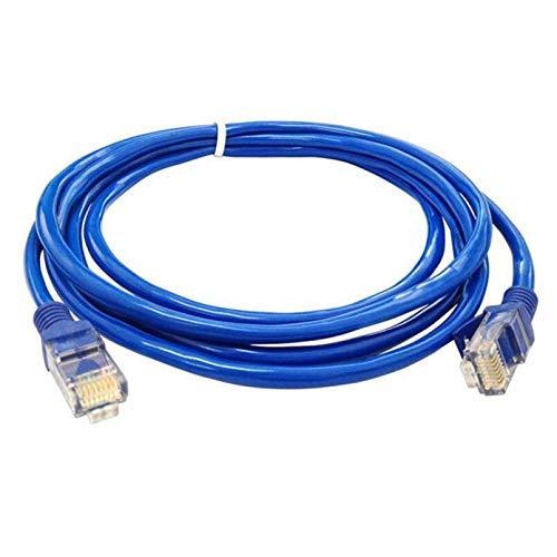 Durable Cable de Red CAT5e de LAN de Internet Ethernet Azul con Parche Cat5e confiable para enrutador de módem de computadora - (Longitud del Cable: 240 CM) (Color : 800CM)