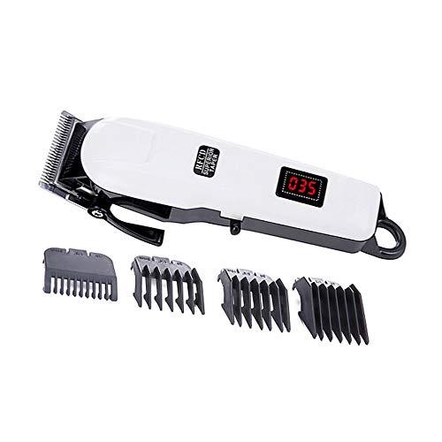 TOOGOO Eu Stecker Haar Schneiden Maschine Professionelle Maschine Haar Schneiden Maschine Trimmer für M?Nner Haar Schneider Wiederaufladbare Elektrische Maschine zum Schneiden Von Haaren