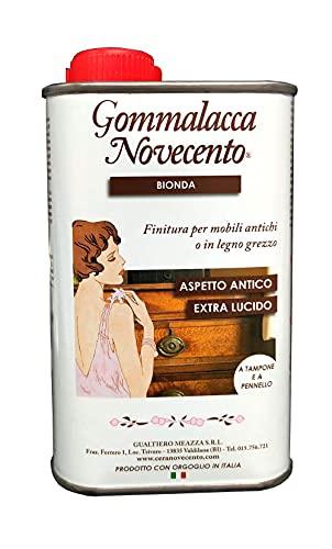 Cera Novecento 831 Vernice Gommalacca Bionda, Neutro, 250 ml
