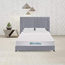 Extra Sleep Memory Foam Mattress 6 inch Orthopaedic Body Posture Contouring, King Size (84x72x6)