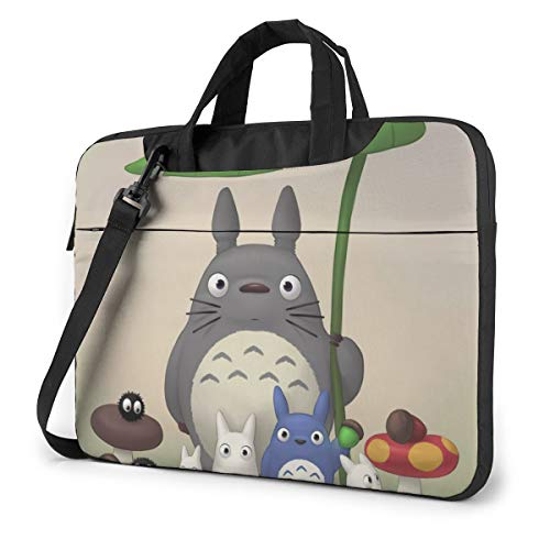 Totoro Fashion Anime Laptop Case Shockproof Anti-Static Super Soft Messenger Bag Case Sleeve for 13&14&15.6 Inch Laptop