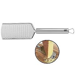 WMF Profi Plus kaasrasp roestvrij staal 25 cm, fijn raspgebied, parmezaanse rasp, citroenrasp, Cromargan roestvrij staal gedeeltelijk onder passe-partout, vaatwasser geschikt*