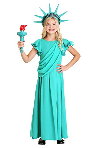 Girl's Statue of Liberty Costume Medium