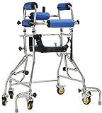 JHDPH3 Walker silla de ruedas for adultos de edad avanzada Walker Rehabilitación Equipo de...