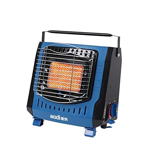 Heater Calefactor de Gas portátil,Calefactor de Gas de cerámica,Calefactor para Exteriores,Camping,Quemador de cerámica,2kW