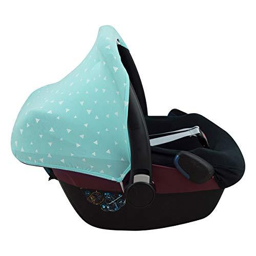 JANABEBE Capota para Maxi-Cosi Pebble Bebe Confort (MINT SPARKLES)
