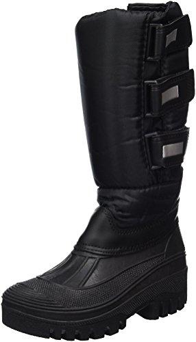 PFIFF Unisex Kinder Thermo-Stiefel, Schwarz, 34 EU