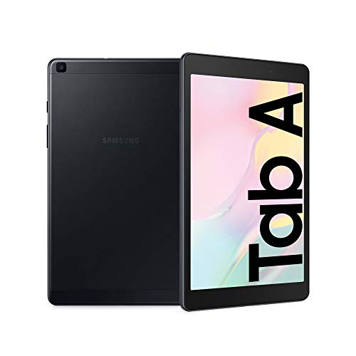 Samsung Galaxy Tab A 8.0, Tablet, Display 8.0' TFT LCD, 32 GB Espandibili, RAM 2 GB, Batteria 5100 mAh, WiFi, Android 9 Pie, Black [Versione Italiana]