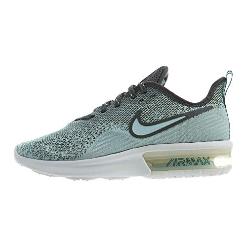 Nike Women's Air Max Sequent 4 Running Shoe Mineral Spruce/Teal Tint/Summit White Size 10 M US