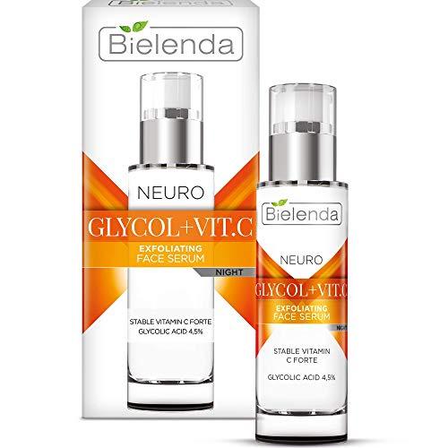 Bielenda Glykolsäure + Vitamin C Antifalten Serum gegen Pigmentflecken 30 ml