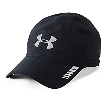 Under Armour Men s Launch ArmourVent Cap  Black  001 /Silver  One Size Fits All