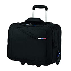 American Tourister Laptoptrolley AT BUSINESS III ROLLING TOTE BLACK