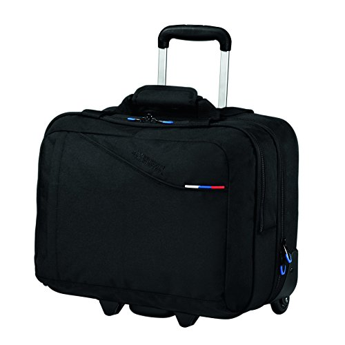 American Tourister Bagaglio a mano AT Business III Rolling Tote 30 liters Nero (Black) 46868 1041