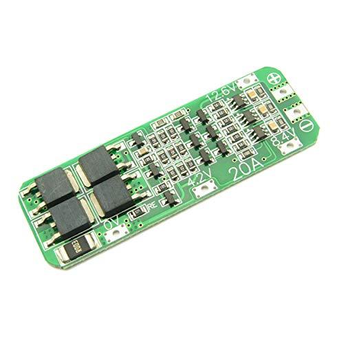 Morninganswer 3S 12.6 V 20A Li-Ion batería de litio 18650 cargador de protección PCB placa de protección cargador portátil Accesorios electrónicos
