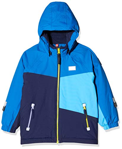 LEGO Wear Boys Jacket With Adjustable Hem and Detachable Hood, Blue, 9 Months