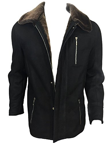 DX Leather Products -  Cappotto - Uomo Black Medium