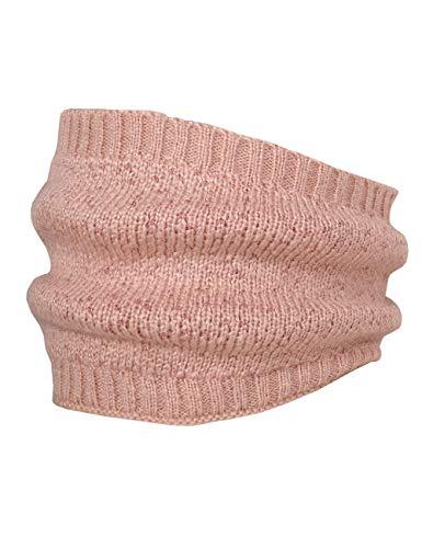 maximo Mädchen Tube mit Lurex Schal, Rosa (Rose Tan 39), (Herstellergröße: One Size)