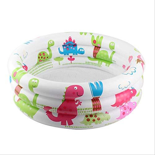N-S Piscina de bebé inflable Bañera de Baño Redondo encantador animal impreso fondo Niño de Verano Juego de Bola de la Piscina niño Juguetes de Agua 61cm