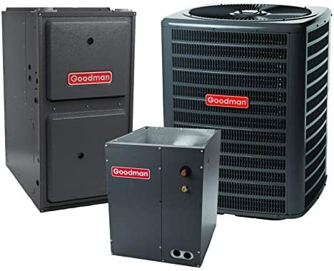 Goodman 2.0 Directly managed store TON 15.5 SEER Air G with Bombing new work Conditioner Bundle Furnace