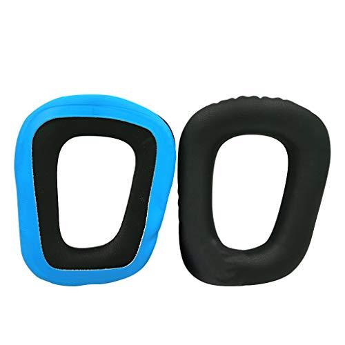 zrshygs Almohadillas para los oídos Cojines Diadema para Logitech- G331G332 G432 G431 G430 G230 G231 G930