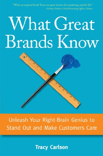 What Great Brands Know: Unleash Your Right-Brain Genius to Stand Out and Make Customers Care (English Edition) eBook: Carlson, Tracy: Amazon.es: Tienda Kindle