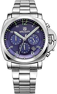 ساعة للرجال من ميجر، سوار ستانليس ستيل، كرونوغراف M-3006-20