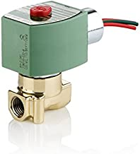 ASCO 8262H202-120/60,110/50 Brass Body Direct Acting General Service Solenoid Valve, 1/4