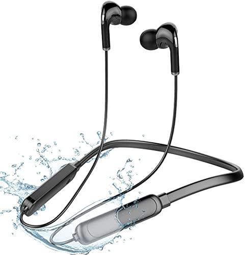 Auriculares Bluetooth Sport Auriculares In-Ear Bluetooth Bajos Potentes, IPX7, Impermeables, micrófono y Mando Integrado CVC8.0, Sonido, Correr Fitness para iPhone, Xiaomi, Android