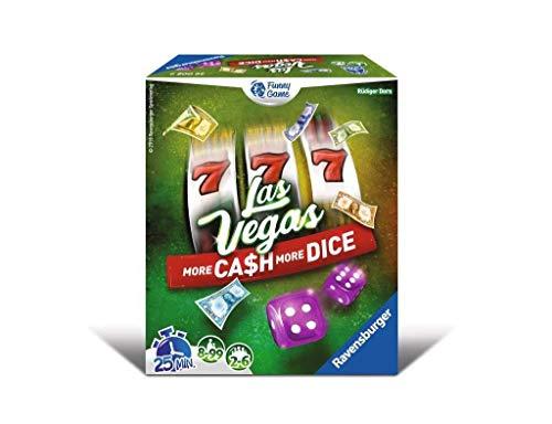Ravensburger – Extension de jeu Las Vegas More cash more dice - Jeu d'ambiance en famille ou entre amis - De 2 à 4 joueurs à partir de 8 ans – 26008 Version française