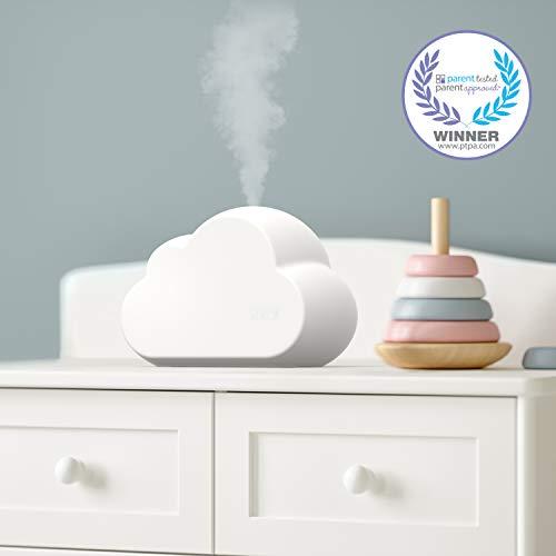 PureEnrichment(ピュアエンリッチメント)ミストエア雲形加湿器–超音波クールミスト加湿最長24時間連続可動、子供や赤ちゃんに、8色のナイトライト、可変ミスト、子供部屋やベッドルーム向けのささやくように静かな動作、BPAフリー