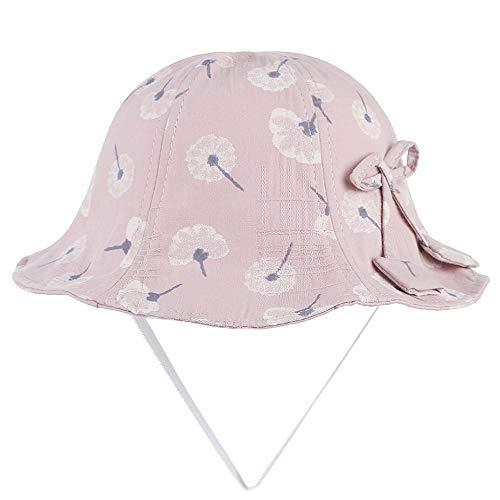 Bin Zhang 2019 Fille imprimant la crème Solaire Chapeau de pêcheur de Bande dessinée Mignonne Taille de Chapeau de Soleil 53cm (Couleur : 5, Taille : 53)