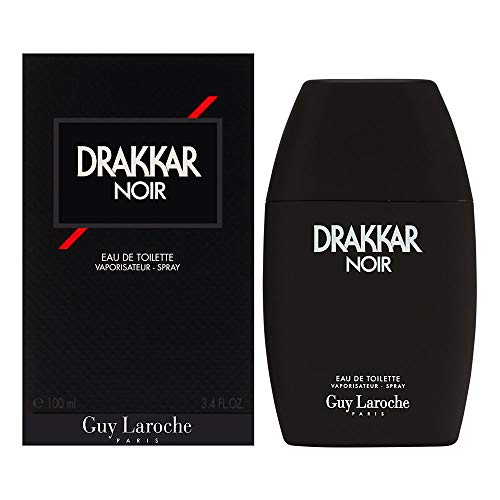 Guy Laroche Drakkar Noir, Eau de Toilette Spray, 100ml, 1er Pack (1 x 100ml)