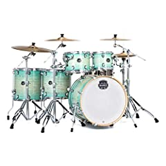 Mapex hybrid shell Ideal balance of warmth and crack Fast, clear tone with a quick rebound High quality SONIClear bearing edges allow drumhead to sit flat