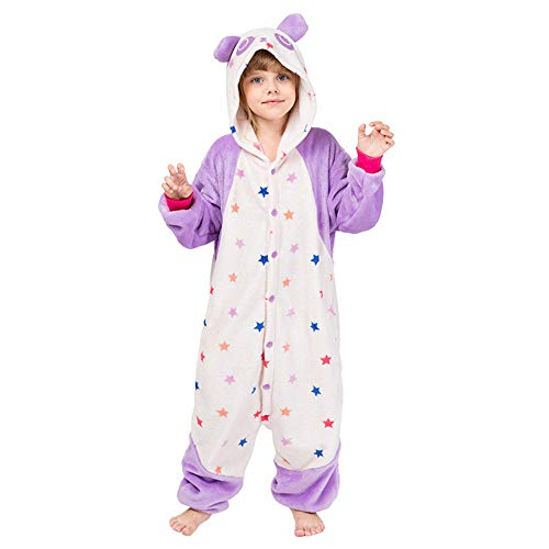 KIYOUMI Kids Unisex Panda pyjama Onesies Huiskleding Halloween Kerst Cosplay Kostuum