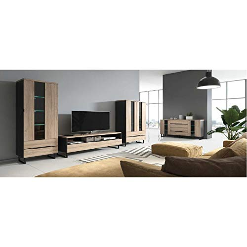 Azura Home Design - Conjunto de mueble para TV Bellera.