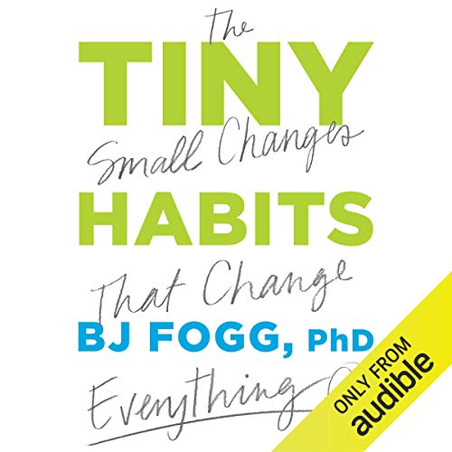 Tiny Habits audiobook cover art