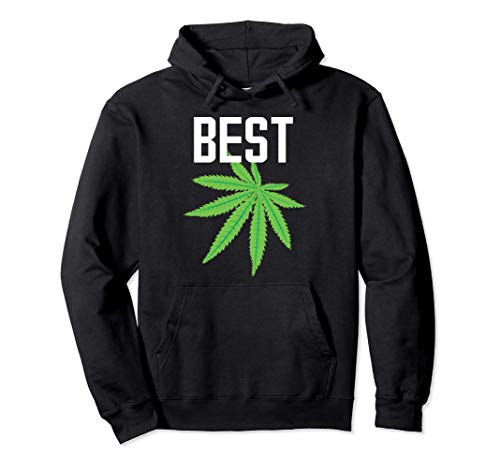 Mejor BUD Weed Marihuana Leaf Pot Smoking Sudadera con Capucha