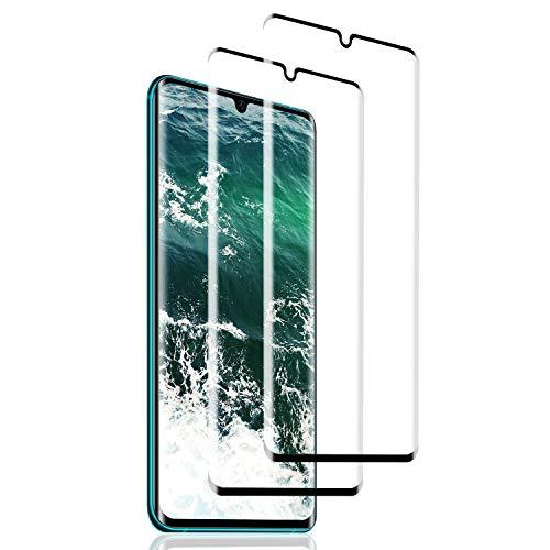 SNUNGPHIR 2 Pack Protector de Pantalla para Xiaomi Mi Note 10,[3D Curvo Full-Cover] Cristal Templado Mi Note 10, 9H Dureza,Sin Burbujas, Alta Definicion, Vidrio Templado para Mi Note 10