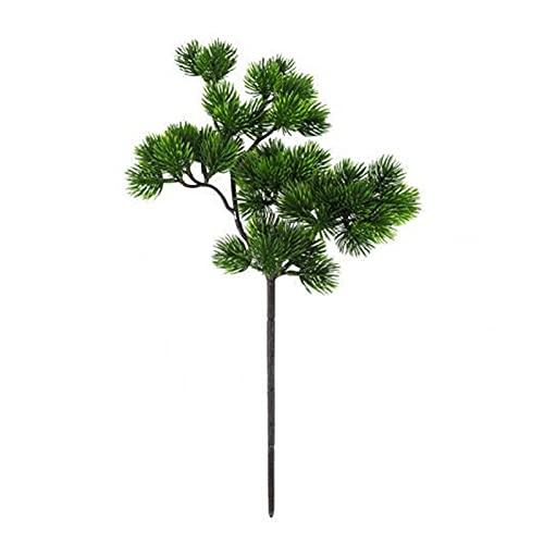 LJGFH Künstliche Pflanze 1 stück künstliche Gäste-Grußkunst-Pflanze Home Dekorative Bonsai-Ornament Festliche und Party-Supplies Wohnkultur dauerhaft (Color : Green)
