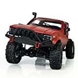 1:16 WPL C14 Scale 2.4G Mini Todoterreno RC Semi-Truck RTR Kids Climb Truck Toy (Rojo) -BCVBFGCXVB